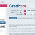 Půjčka Creditsor – jak si zažádat a co je třeba splnit?