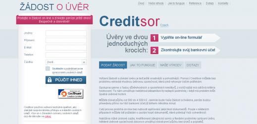 Půjčka od Creditsor