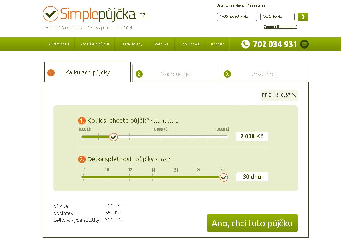 Simple půjčka - jak ji získat online žádost